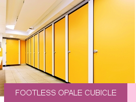 Footless Opale cubicle