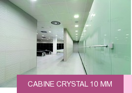 Cabine Crystal 10 mm