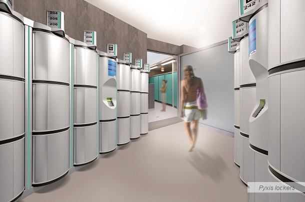 Pyxis lockers